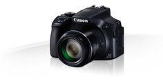 Canon SX60 HS con zoom de x65 (21-1.365mm)