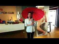 Sporculardan Şemsiye Hareketi Desteği - YouTube