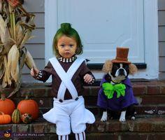 Oompa Loompa & Willy Wonka!