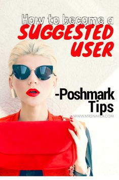 How to become a suggested user on Poshmark