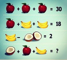 #3AM #Life$tyle © — Saw this on #Linkedin just a fun brain teaser… Can...