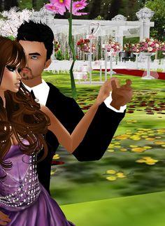 Captured Inside IMVU - Join the Fun! Bem, como posso dizer, casamento é uma coisa linda, rincipalmente na vida real. Esse casamento foi de minha irmã Alyne e seu noivo Wayzoma. Lindos não? Desejo felicidades a esse belo casal. *-*