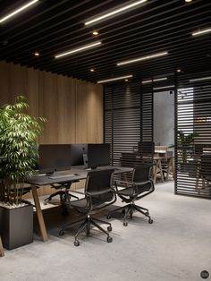 Insvire Company Office at VWArtclub Law Office Design, Ceo Office, Luxury Office, Modern Office Design, Office Interior Design, Office Interiors, Office 2020, Contemporary Office, Commercial Design