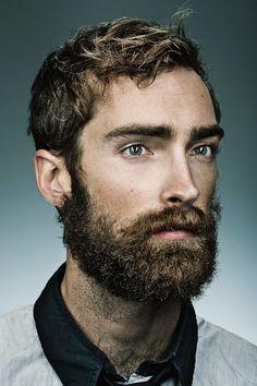 Beard by Tyler Stalman Beards And Mustaches, I Love Beards, Great Beards, Moustaches, Hairy Men, Bearded Men, Hair And Beard Styles, Long Hair Styles, Beard Lover