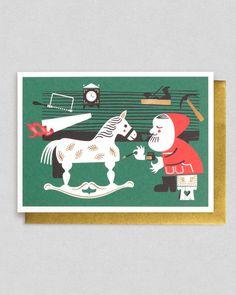 Christmas card by Studio Tipi | Lagom Design