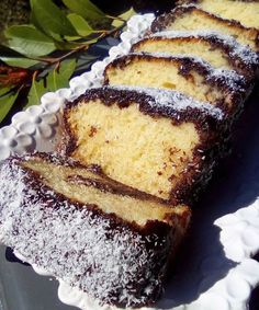 Chocolate Sweets, Love Chocolate, Greek Sweets, Banana Bread, Food And Drink, Diet, Cookies, Baking, Cake