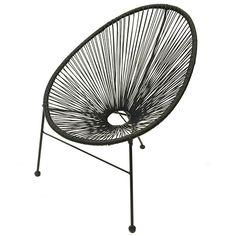 Salsa fauteuil - Zwart