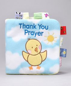 The Thank You Prayer My First Taggies Cloth Book by Scholastic