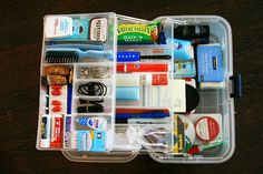 #DIY Wedding Day Emergency Kit every bride or groom needs one for their day.