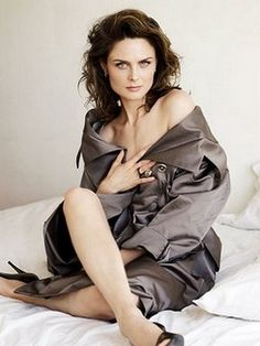 "Emily Deschanel -  classic beauty and vegan. ""Ten billion animals a year are killed for food in the United States alone,"" she notes. ""It's insane. I've done different things for different animals, from primates to dogs and cats, but I really like to focus on [farm animals] because the numbers are so high and people aren't as aware."""