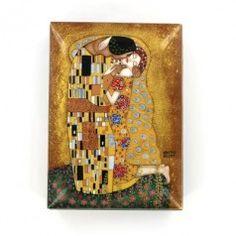 """Gustav Klimt """"The Kiss"""" Russian Box"""
