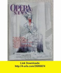 Opera News Magazine. January 4, 1992. Single Issue Magazine. Volume 56, No. 8 Patrick Smith ,   ,  , ASIN: B003A1M8X8 , tutorials , pdf , ebook , torrent , downloads , rapidshare , filesonic , hotfile , megaupload , fileserve