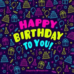 The Number Happy Birthday Meme Free On Your Birthday, Birthday Wishes For Kids, Birthday Clips, Happy Birthday Wishes Cards, Happy Birthday Meme, Happy Birthday Pictures, Birthday Blessings, Birthday Wishes Quotes, Birthday Love