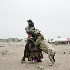 Don't remember the tribe but  they get the the other locals nervous.  The Hyena are considered witches or their familiars