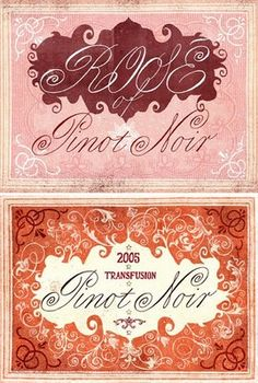 vintage wine labels