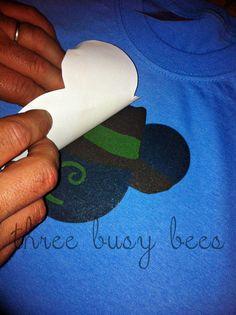 diy disney t-shirts!