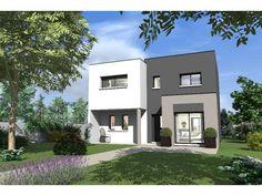 sorbonne maison toit terrasse cette maison moderne en r1 aux volumes - Facade Maison Moderne