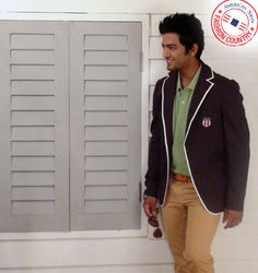 American Swan Fashion Country State Guest Unmukt Chand looks voguish in Polo, smart Jacket & Mighty Mississippi Chino.