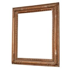 Spanish Colonial Antique Frame with Mirror