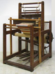 "Antique Loom 1920's ""Hammett's"" Museum Quality Use It or Display It 41x31x53 | eBay"