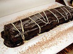 Receita de Rocambole de chocolate (sem farinha) - Massa:# 6 ovos# 4 colheres (sopa) de açúcar# 1 colher (sopa) de achocolatado