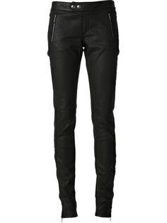 BARBARA BUI Waxed Skinny Jean