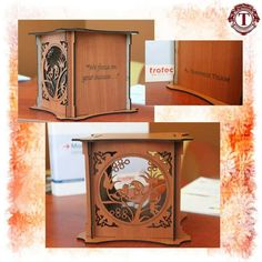 Want to have a customized box? Trotec Laser Machine can surely help you create perfect and stylish designs of wooden boxes. #trotec #laser #cutting #box #designs #wooden #altarkeez #success #dubai #contactus  For more information and queries please contact us: Al Tarkeez Trading LLC Phone: (00971) 4 294 1171 - (00971) 4 294 1173 Fax: (00971) 4 294 1188 Email: info@tarkeez.net www.tarkeez.net Al Garhoud, Ithraa Plaza Bldg, Office number: 302, Dubai - U.A.E