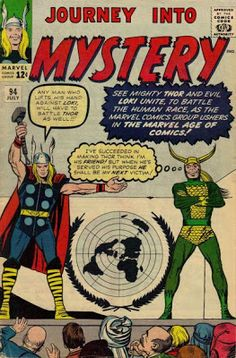 Journey Into Mystery #94. Thor and Loki.  #JourneyIntoMystery #Thor #Loki