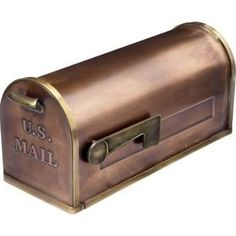 large copper mailbox - Google Search