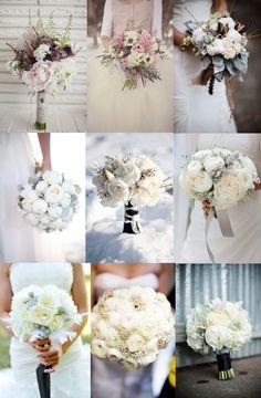 vinter brudebukett