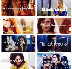 The doctor wouldn't be the doctor with out them