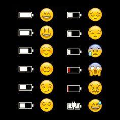 ] The Emoji Explains It funny jokes phone lol humor emoji battery