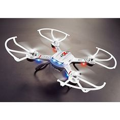 CreaTion F181 5ch 6axis Hd Aerial Photography Rc Quadcopter Rc Drone with 20mp Camera  white * Learn more by visiting the image link.