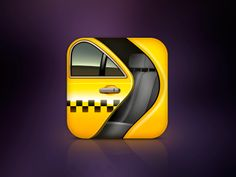 Taxi App icon by kira
