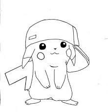 Dibujos de Pokemon para colorear Pikachu  pokemones  Pinterest