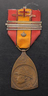 """""""Médaille commémorative de la guerre 1914-1918"""", Belgium - Europeana 1914-1918 CC-BY-SA"""