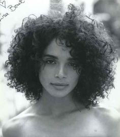 If I cut my hair short, can you promise I'll suddenly turn into Lisa Bonet? Hair Colorful, Curly Hair Styles, Natural Hair Styles, 80s Curly Hair, Curly Bob, Pelo Afro, Curly Girl, Big Hair, Beautiful Black Women