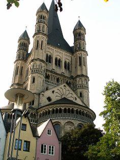 Köln (Cologne) - Groß St. Martin Church   Flickr - Photo Sharing!