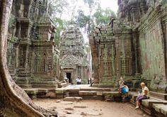 Siem Reap, Cambodia - Although the city of Siem Reap is relatively new, it is surrounded by the ancient remains of Angkor Wat, the City of Temples and the largest religious monument in the world. What Angkor Wat offers in terms of exploration and adventure, Siem Reap offers in rest and relaxation.