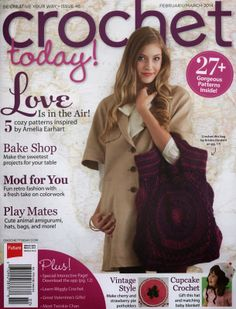 Revista Crochet Febrero Marzo 2014 - Patrones Crochet