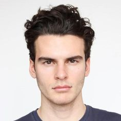 version that is formal enough for work and cool enough for play. To get the look, push hair back around the temples and forehead, leaving curls to go wild on top. Wavey Hair, Wavy Hair Men, Curly Hair Cuts, Curled Hairstyles, Hairstyles Haircuts, Haircuts For Men, Curly High Top Fade, Hair Styles 2016, Long Hair Styles