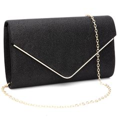 Labair Womens Shining Envelope Clutch Purses Glitter Evening Bag Handbags For Wedding and Party,Black,Small. Glitter Clutch Bag, Clutch Wallet, Black Clutch, Shoulder Handbags, Shoulder Bag, Best Purses, Evening Bags, Evening Clutches, Envelope Clutch