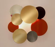 Square Disc Sconce - Property Furniture