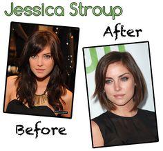 Antes e depois  #cabeloscurtos #mulheres #cabelos #shorthair  visite: www.cortecabelocurto.com
