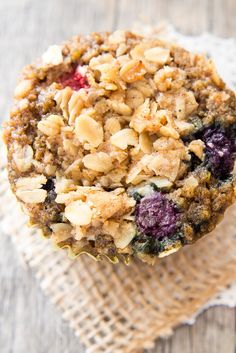 Make a batch of these berry quinoa breakfast muffins, filled with healthy ingredients to keep you energized and satisfied until lunchtime.