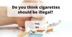 The laws differ from country to country, but we hope you at least have a right to your own opinion. Let us know what yours is with regards to cigarettes in today's poll! Make su Thinking Of You, At Least, Change, Let It Be, Country, Recipes, Thinking About You, Rural Area, Recipies