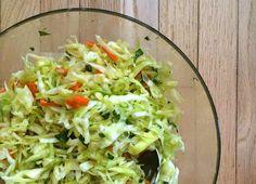 Cabbage slaw.