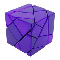 Ghost Cube Metallised (Purple)