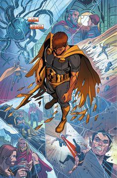 Preview: Hyperion #4, Story: Chuck Wendig Art: Nicole Virella Cover: Elizabeth Torque Publisher: Marvel Publication,,,,,,!!!!>>