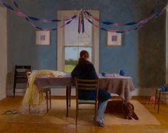Refreshingly Honest Oil Paintings (6 total) - My Modern Metropolis; David Graeme Baker